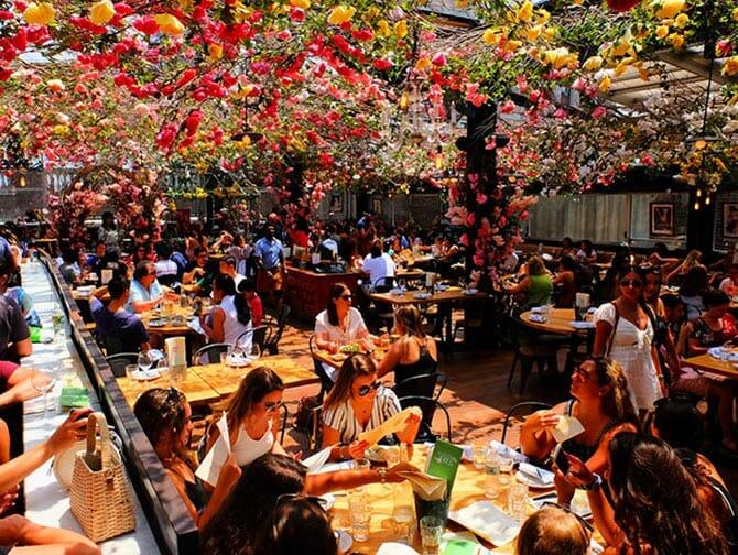 Restauranter i New York - Birreria Rooftop Terrace