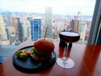 Restauranter i New York - Drinker på Manhatta