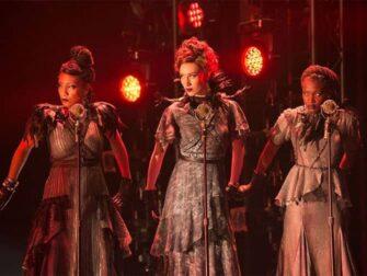 Hadestown Broadway - De tre skjebnegudinnene