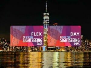 Forskjellen mellom New York Sightseeing Flex Pass og Sightseeing Day Pass