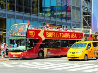 Forskjellen mellom New York Sightseeing Flex Pass og Sightseeing Day Pass - Hop-on-hop-off-buss