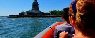 RIB-båt i New York