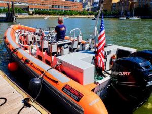 RIB-båt i New York - RIB-båten