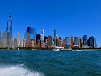 RIB-båt i New York - Utsikt fra båten