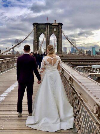 Bryllupsfotograf i New York - Brooklyn Bridge