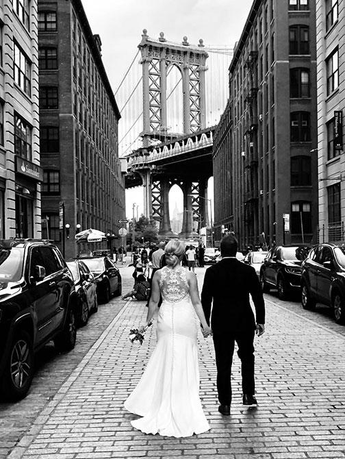 Bryllupsfotograf i New York - Brooklyn
