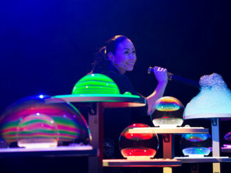 Gazillion Bubble Show Broadway Tickets - Imponerende bobler