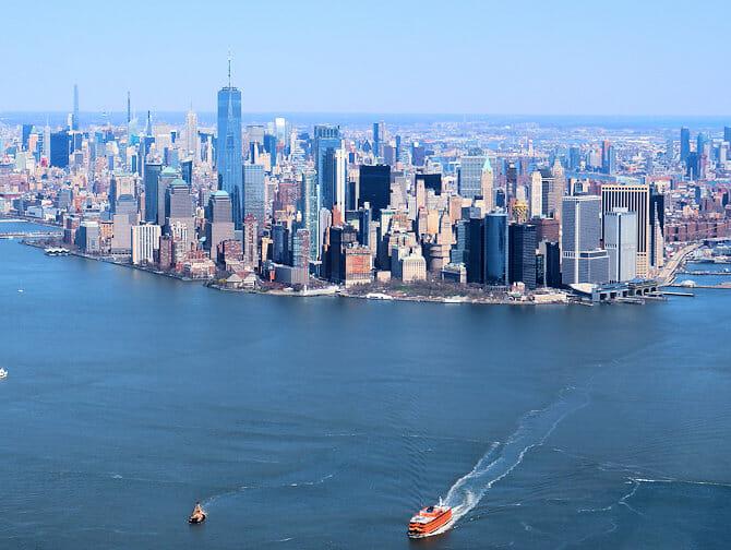 Billige helikopterturer over New York