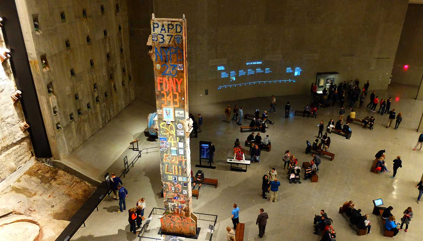 Top New York Museum - 9-11 Museum