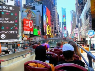 Go New York Explorer Pass Big Bus