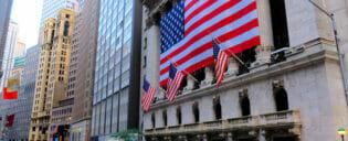 Lower Manhattan og the Financial District i New York