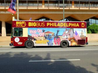 Philadelphia Pass for attraksjoner - Hop on Hop off Bus