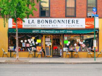 Frokost i New York - La Bonbonniere