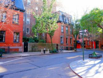 Greenwich Village in New York Gade