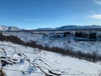 Stop-over på Island på vei til New York Thingvellir