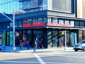 Lower East Side i New York Essex Market
