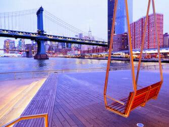 Lower East Side i New York Pier 35