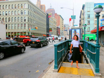 New York Subway Canal Street
