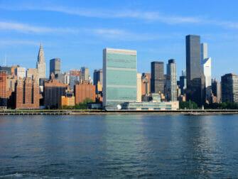 De forente nasjoner i New York United Nations Chrysler Building