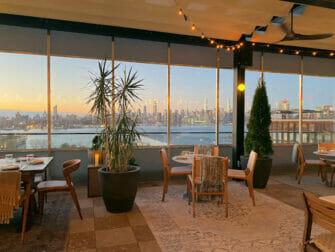 Williamsburg i Brooklyn - middag med en utsikt