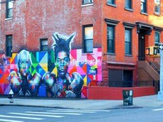 Williamsburg i Brooklyn gatekunst