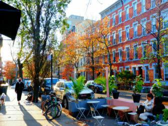 Williamsburg i Brooklyn - gatelivet