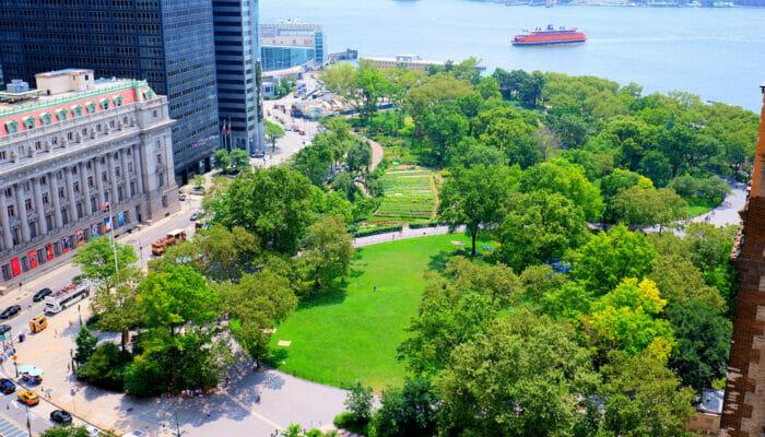 Parker i New York - Battery Park New York