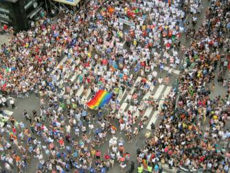 Gay Pride i New York - Folkemengde