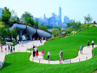 Little Island i New York - Grønn oase