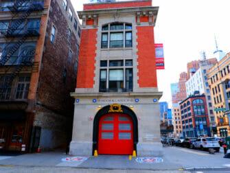 Steder for filminnspilling i New York - Ghostbusters