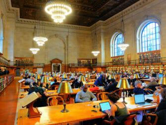 Steder for filminnspilling i New York - Public Library