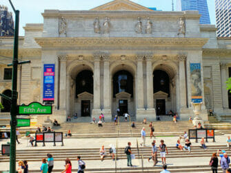Steder for filminnspilling i New York - The Day After Tomorrow Public Library