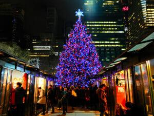 New York julemarked