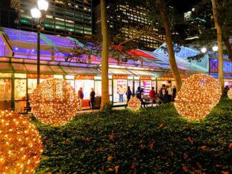 New York julemarked - Grand Central - Bryant Park