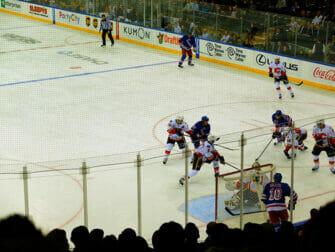 Dra på en New York Rangers kamp - Spillere