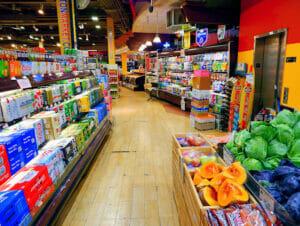 Matbutikker i New York