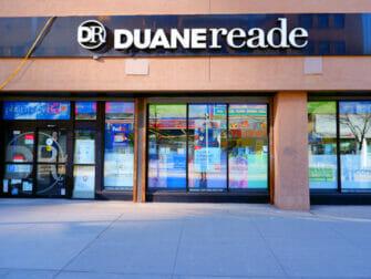 Matbutikker i New York - Duane Reade