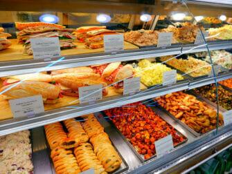 Matbutikker i New York - Whole Foods utvalg