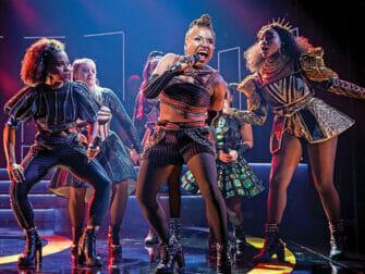 SIX Broadway Tickets - Sang