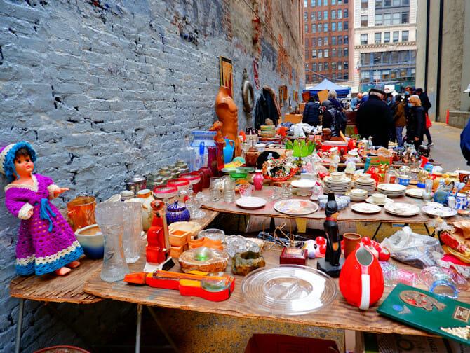Loppemarked i New York City