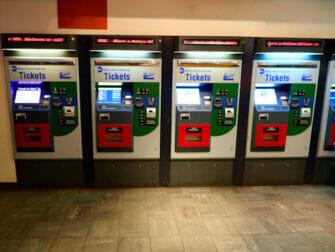 Long Island Rail Road i New York - billettautomat