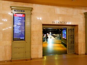 Metro North Railroad i New York - Metro North på Grand Central