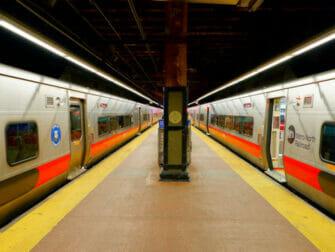 Metro North Railroad i New York - Spor