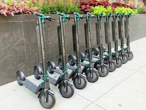 Leie av elektrisk sparkesykkel i New York