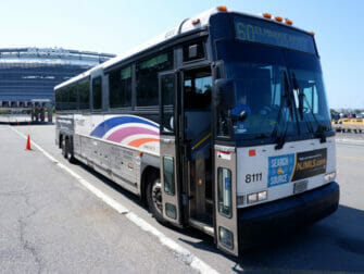 New Jersey Transit i New York - NJ Transit-buss