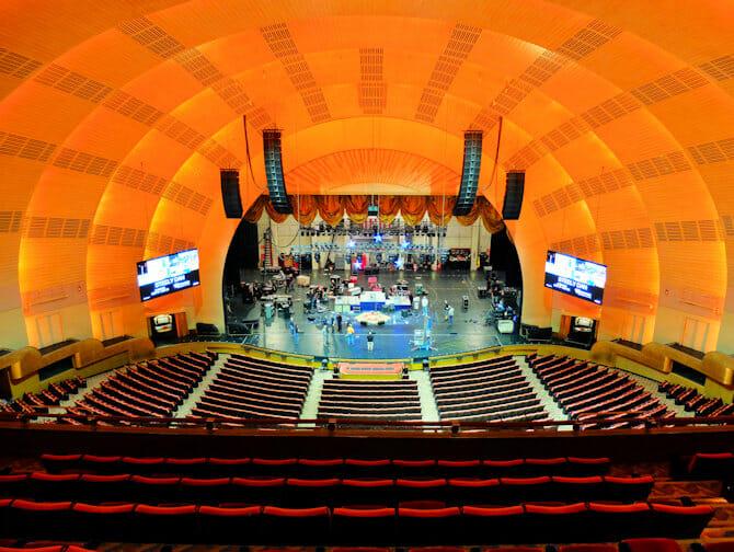 Radio City Music Hall i New York