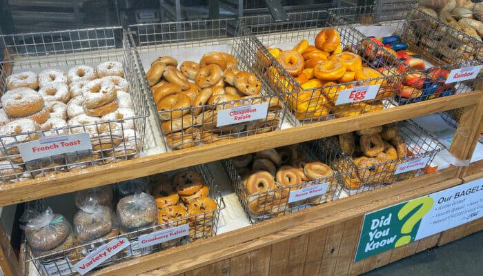 Beste Bagels i New York - Matvarebutikk