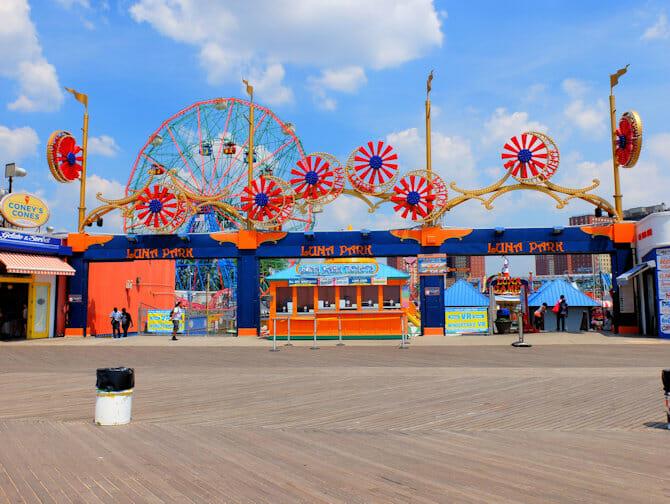 Luna Park på Coney Island Tickets