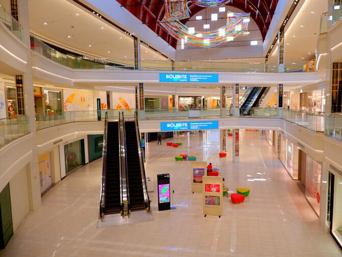 American Dream Mall nært New York