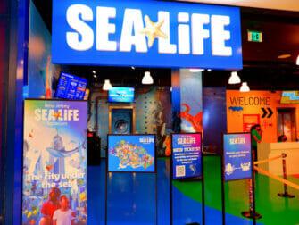 American Dream Mall nært New York - SEA LIFE Aquarium